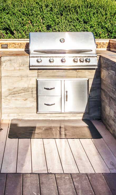 Happy House Construction LLC Residential Outdoor Kitchen