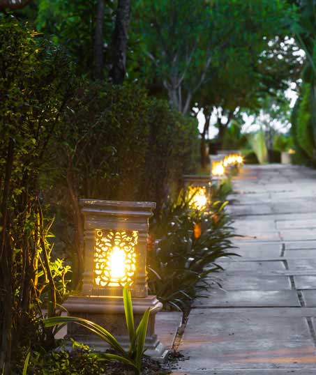 Happy House Construction LLC Residential Landscape Lighting